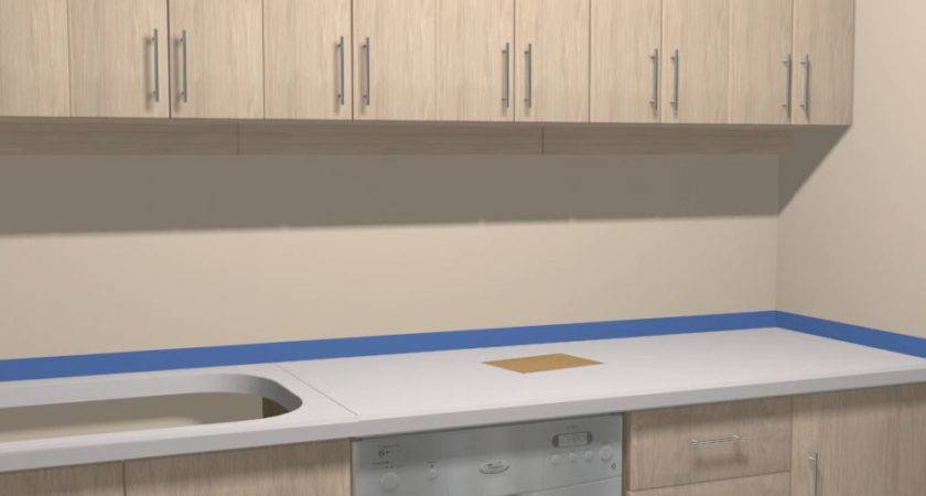Paint Formica Countertops Steps