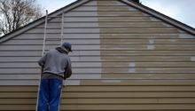 Paint Metal Siding House
