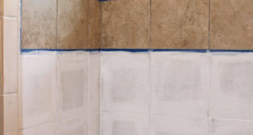 Paint Shower Tile Remington Avenue