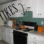 Paint Tile Backsplash Kitchen