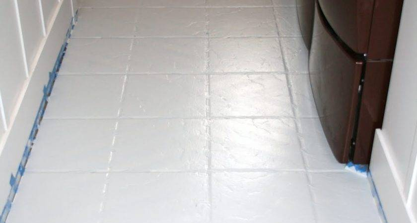 Paint Tile Floors Tutorial Love Stitched