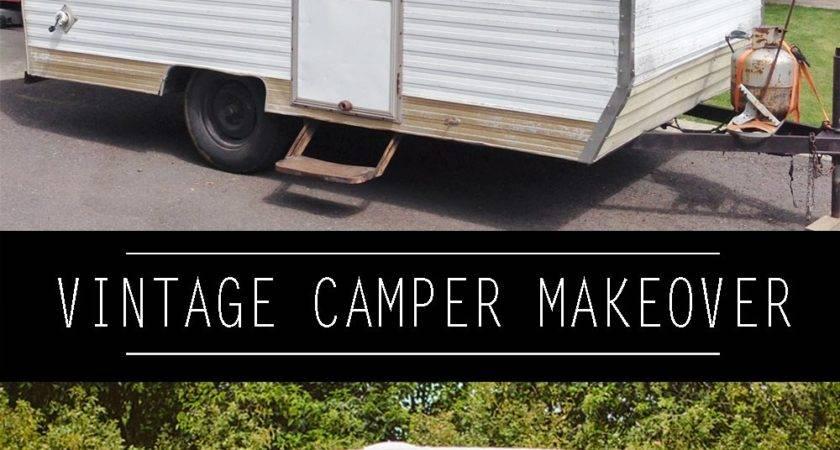 Paint Vintage Camper Whippy Cake