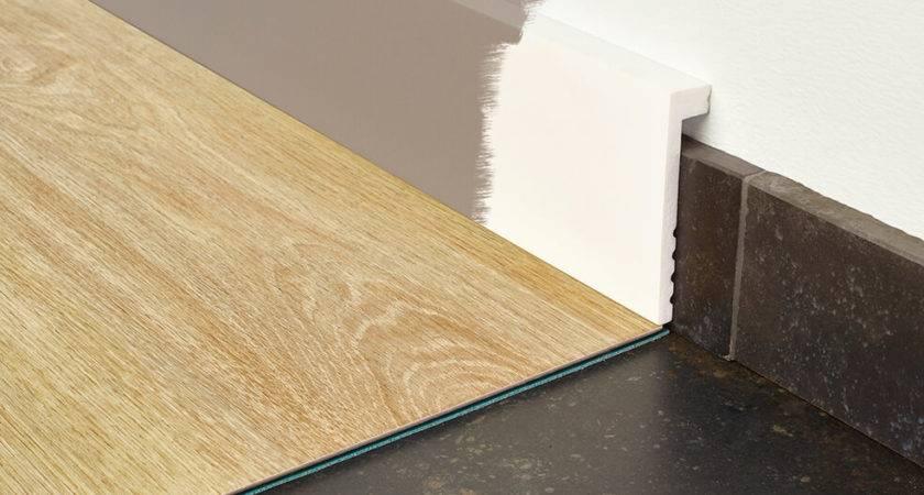 Paintable Skirting Boards Moduleo Luxury Vinyl Flooring
