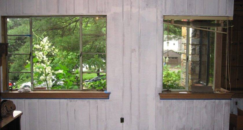 Painted Wood Paneling Before After Photos Home