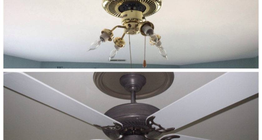 Painting Ceiling Fan Guy Girl