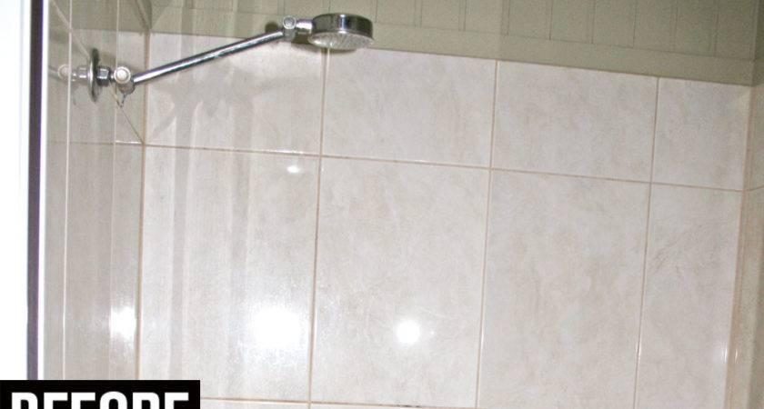 Painting Tile Bathroom Shower Peenmedia