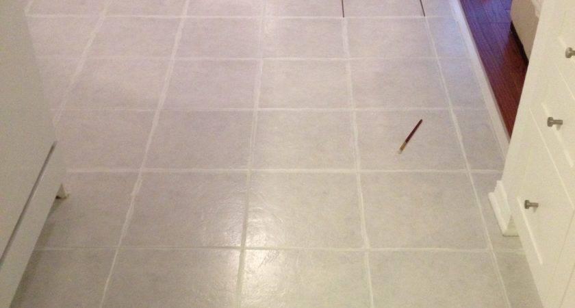 Painting Tile Grout Leclair Decor