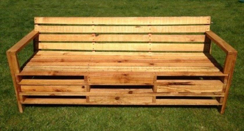 Pallet Bench Your Backyard Furniture Plans