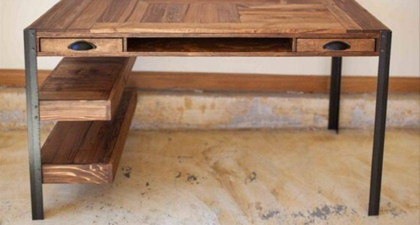 Pallet Desk Ideas Recycled Upcycled