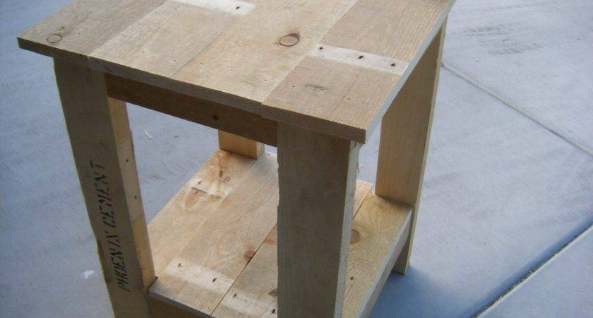 Pallet End Table Plans Pdf Woodworking