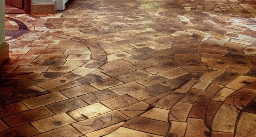 Pallet Floor Diy Project Wood Home