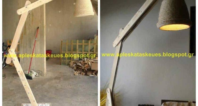 Pallet Floor Lamp Alex Pallets
