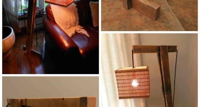 Pallet Floor Lamp Pallets
