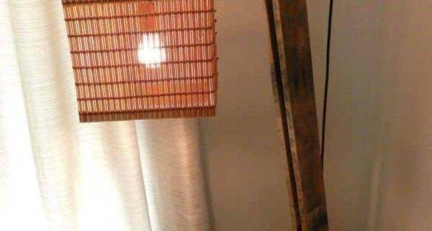 Pallet Floor Lamp Pallets