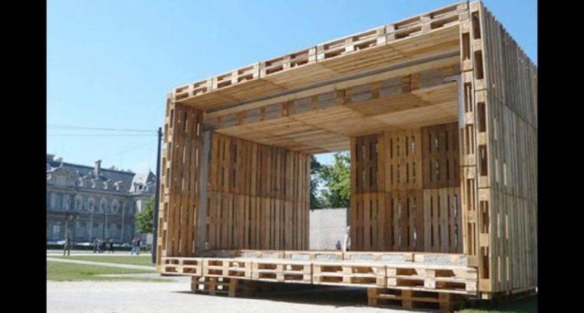 Pallet Furniture Ideas House Plans Youtube