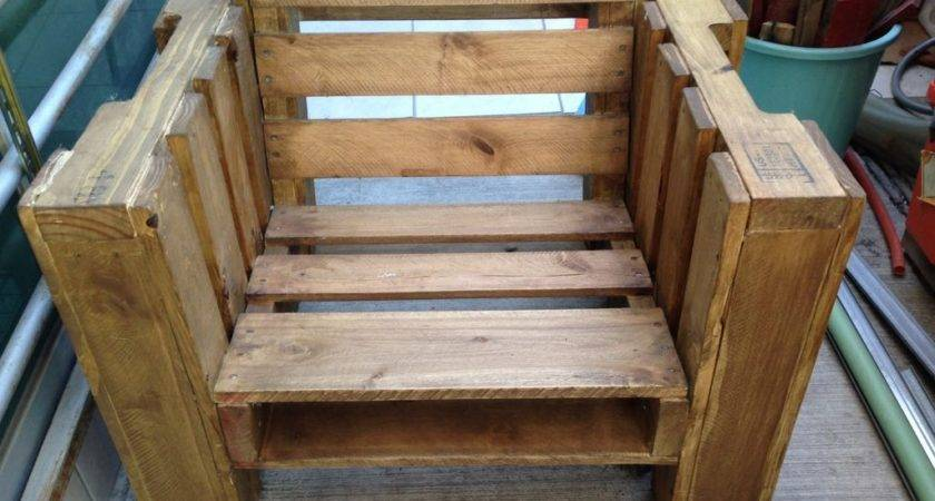 Pallet Furniture Plans Show Fun Part Recycling