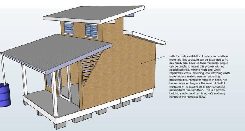 Pallet House Plans Shelter
