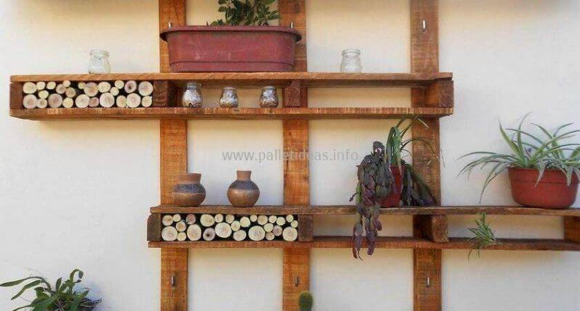 Pallet Ideas Garden Outdoors Diy Motive Part