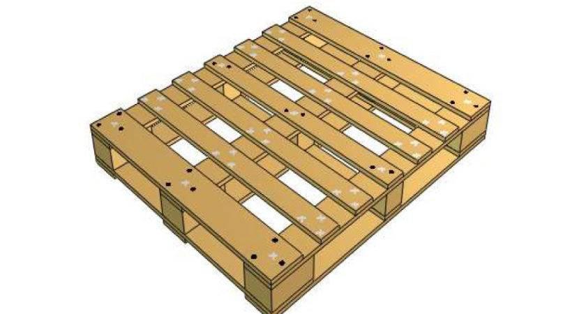 Pallet Industries New Wooden Pallets Stringer