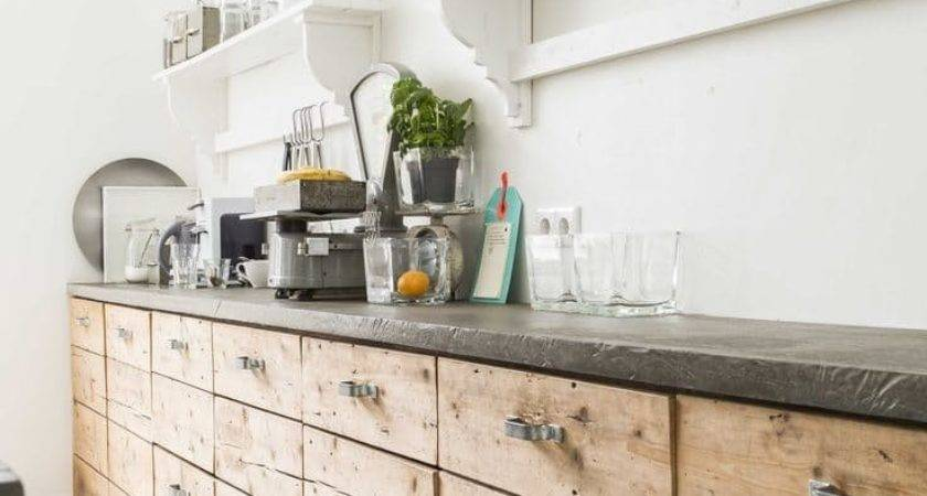 Pallet Interior Kitchen Urban