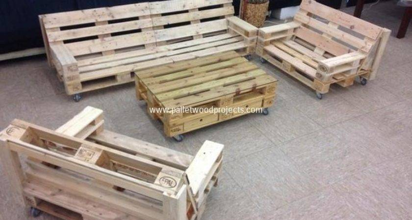 Pallet Patio Furniture Plans Wood Projects