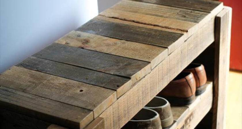 Pallet Shoe Rack Pallets