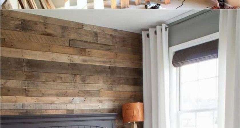 Pallet Wall Shiplap Beautiful Diy Wood