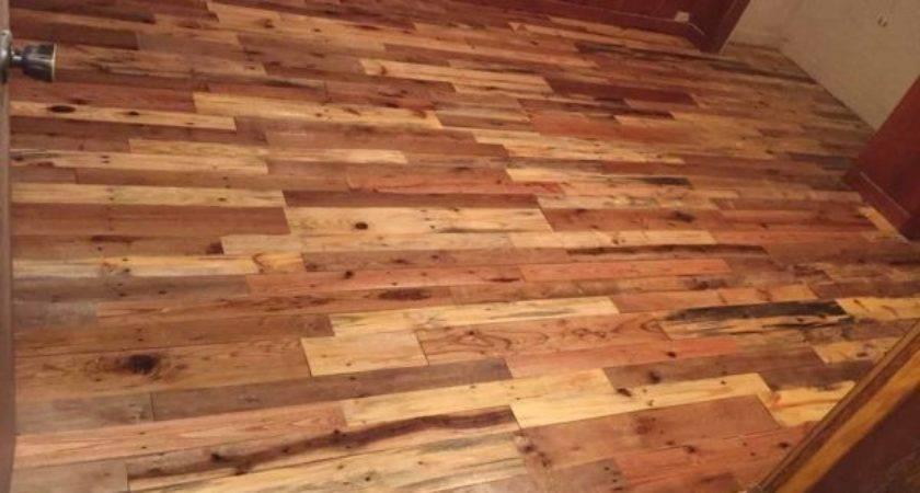 Pallet Wood Floors Two Ways Pallets