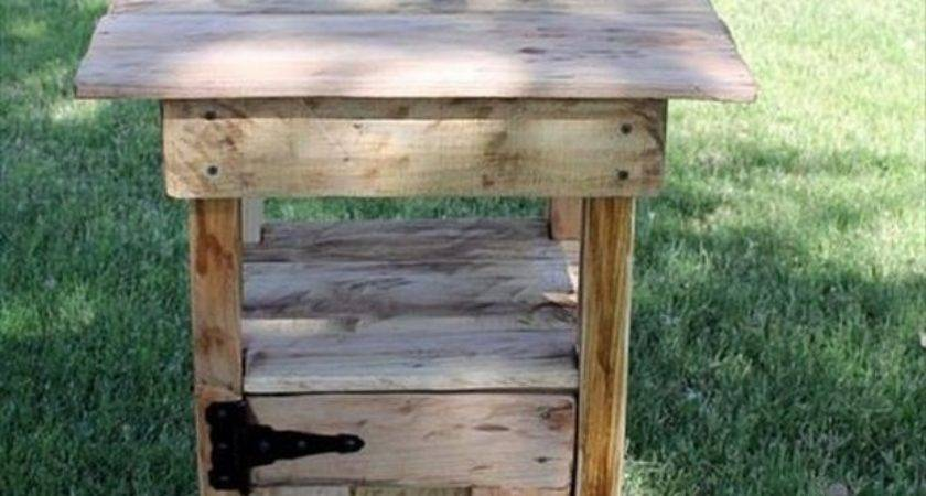 Pallet Wood Ideas Garden Recycled