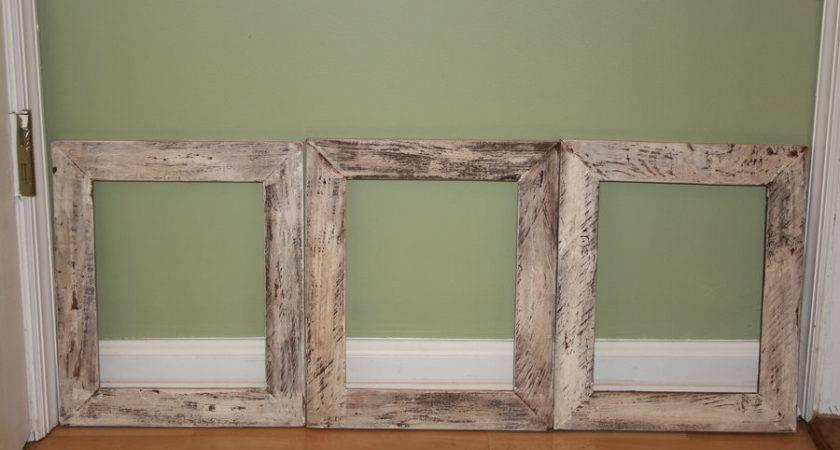 Pallet Wood Rustic Frames Frediv