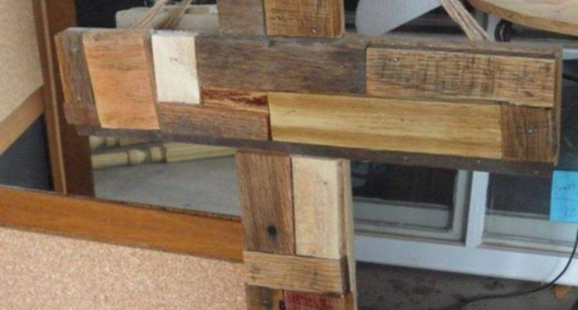 Pallets Made Wooden Crosses Pallet Ideas Recycled