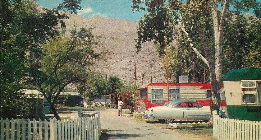 Palm Springs Orchard Trailer Park Don
