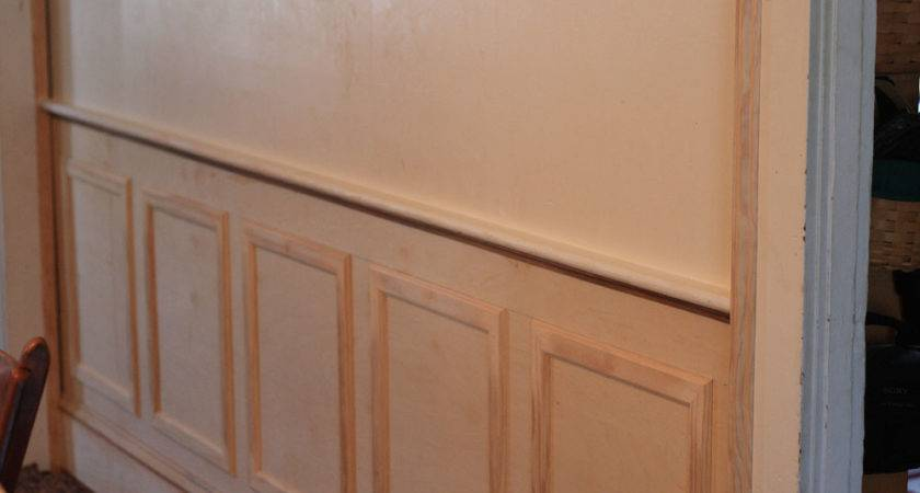 Paneling Walls Grasscloth