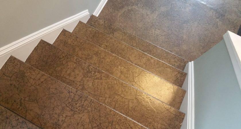 Paper Bag Flooring Stairs