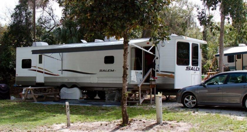 Park Model Camper House Has Wheels