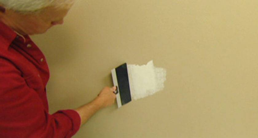 Patching Hole Drywall Spackling Today Homeowner