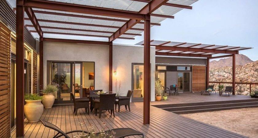 Patio Deck Cover Ideas Contemporary Wood