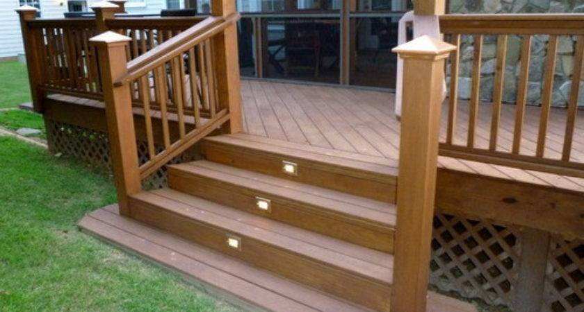 Patio Deck Steps Modern Outdoor