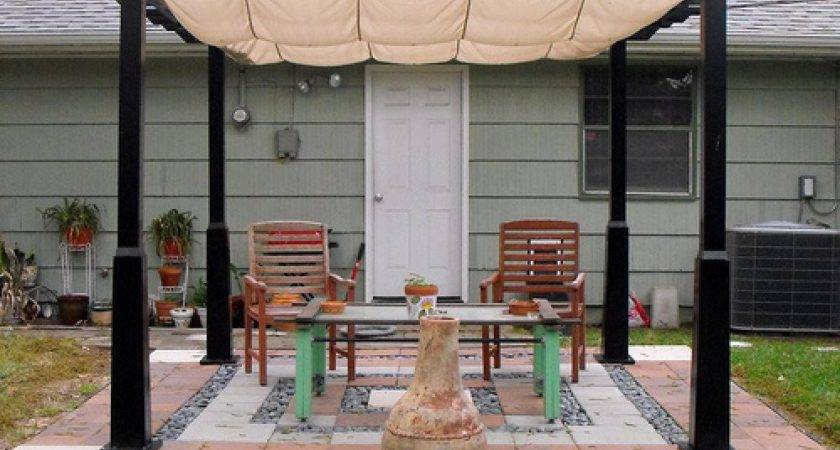 Patio Designs Here Pretty Patterned Des