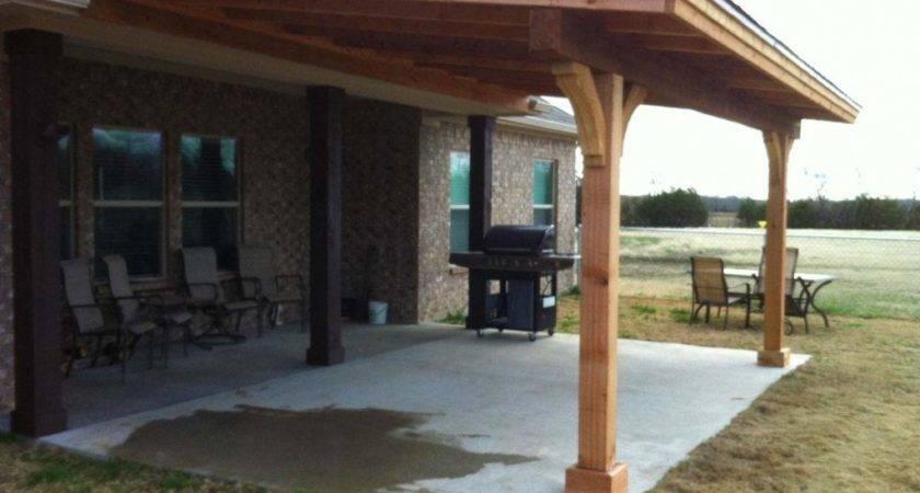 Patio Roof Attach Pergola Cover Ideas Build