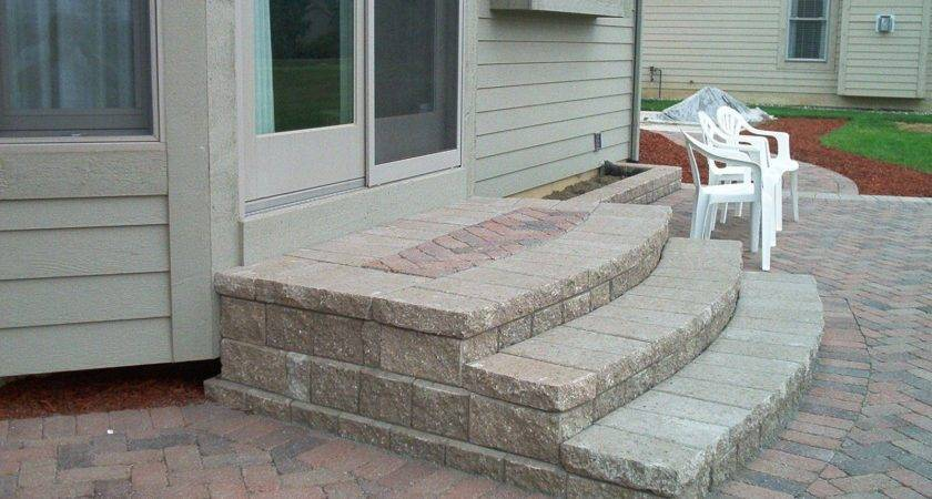 Patio Stairs Ideas Here Some More Encased