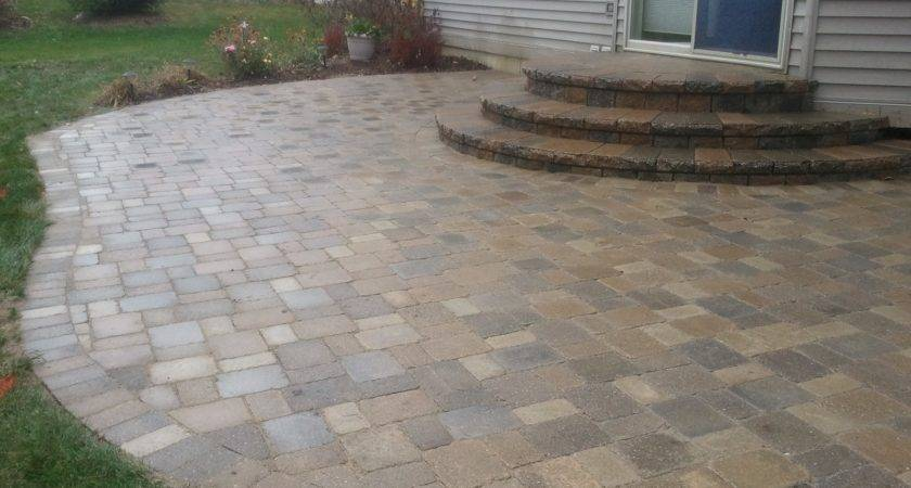 Patio Stone Pavers Design Ideas