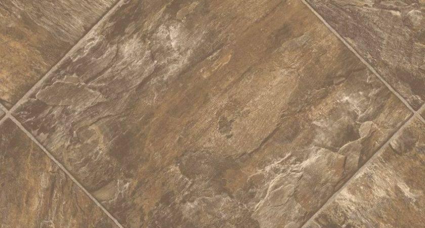 Pavers Stone Sheet Vinyl Flooring Resilient