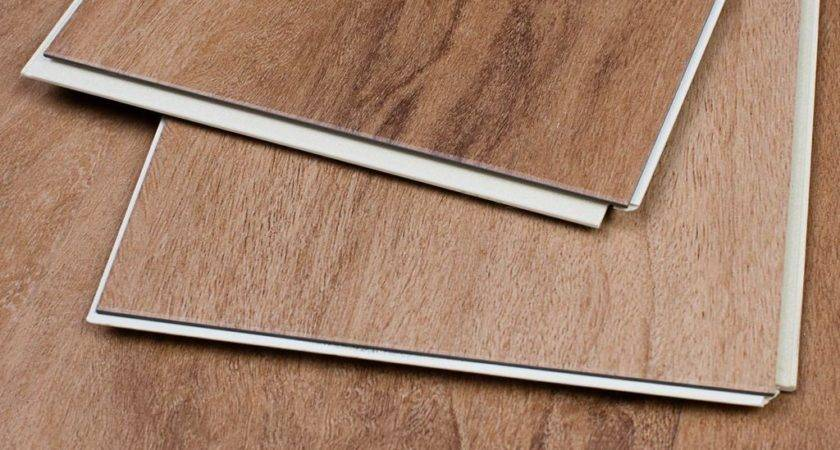 Pecan Luxury Vinyl Locking Plank Flooring