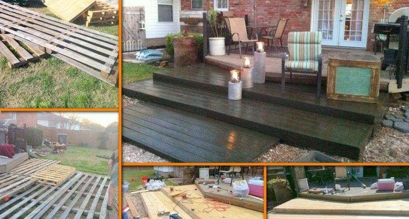 Perfect Diy Pallet Deck Under Cozy Home