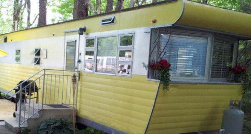 Pics Vintage Mobile Home Restoration Homes Ideas