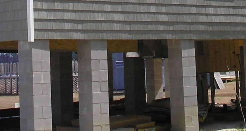 Pier Foundation Home Design