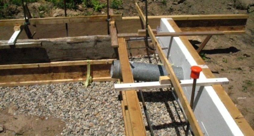 Pipe Stubs Through Footing Fine Homebuilding