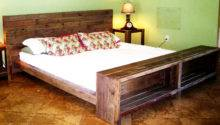 Platform Bed Reclaimed Pallet Wood Reanimatedwood Etsy