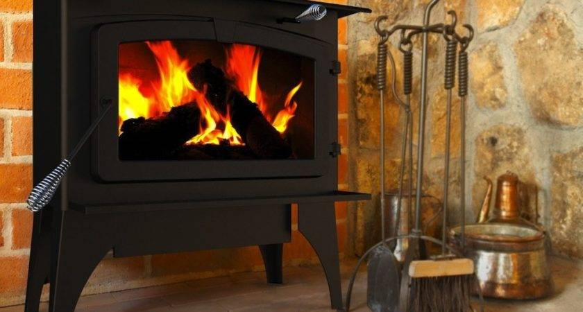 Pleasant Hearth Square Feet Wood Burning Stove